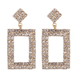 Ericdress Hollow Out Earrings