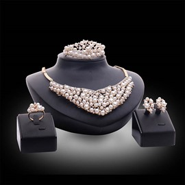 Ericdress Pearl Luxury Jewelry Set
