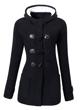 Ericdress Slim Pocket Standard Cotton Padded Jacket