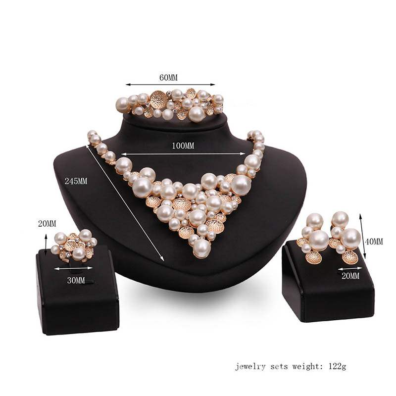 Ericdress Pearl Necklace Wedding Jewelry Sets