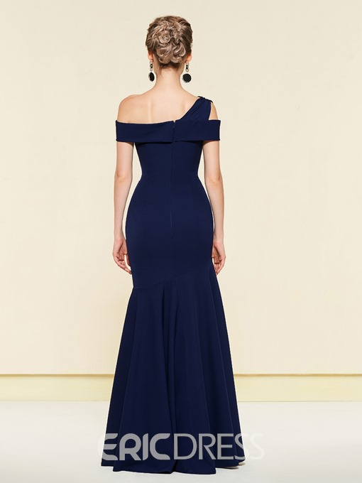 Ericdress Irregular Neckline Trumpet Mother of the Bride Dress