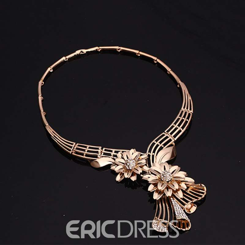 Ericdress Diamante Flower Jewelry Sets