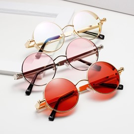 Ericdress Round Resin Sunglasses