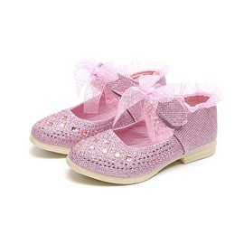 Ericdress Plain Rhinestone Round Toe Baby Shoes