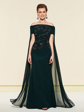 Ericdress Off-The-Shoulder Mermaid Wedding Party Dress