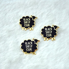 Ericdress Black Brooches