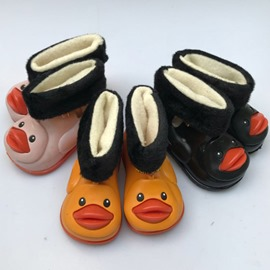Ericdress PVC Purfle Toddler Shoes