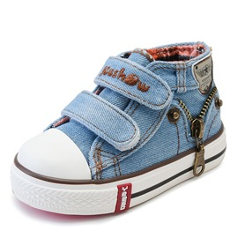 Ericdress Denim Zipper Toddler Shoes
