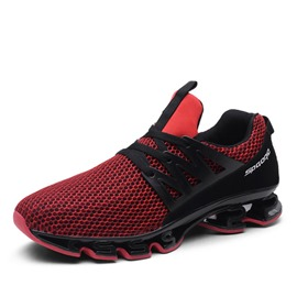 Ericdress Plain Round Toe Lace-Up Mesh Men's Sneakers