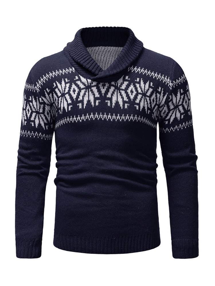 ericdress patchwork pull mens pull décontracté