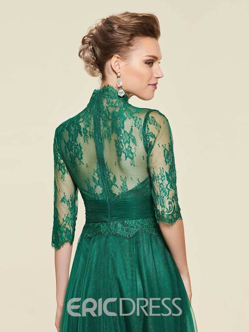 Ericdress Lace Half Sleeves Mother Of The Bride Dress 2019