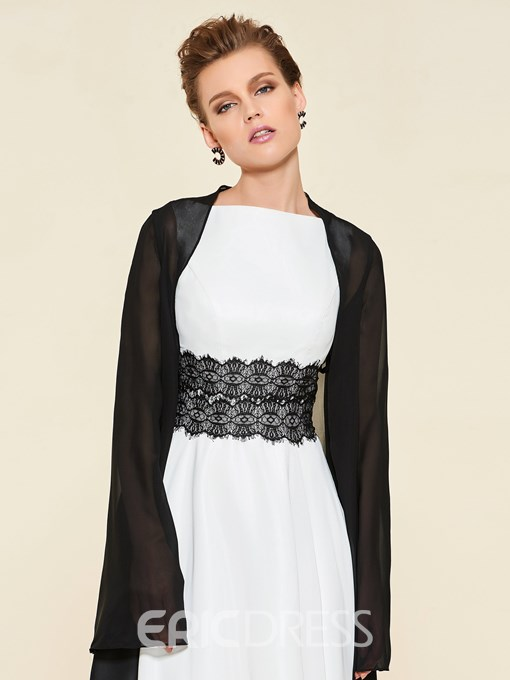 Ericdress Lace Belt Mother of the Bride Dress with Jacket