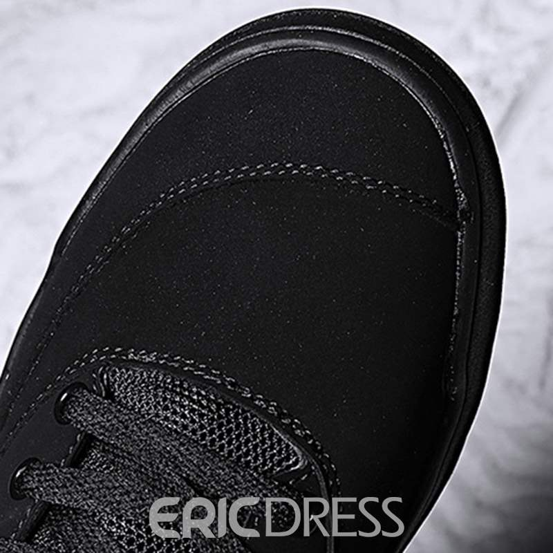 Ericdress PU Round Toe Lace-Up Men's Sneakers