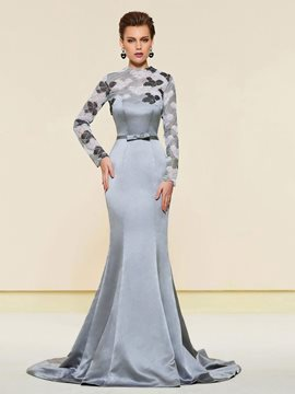 Ericdress Mermaid Long Sleeves Wedding Mother Dress 2019