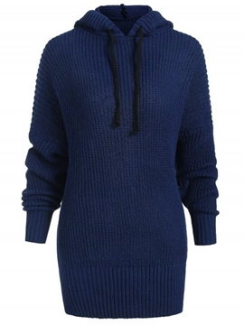 Ericdress Thick Long Sleeve Winter Sweater
