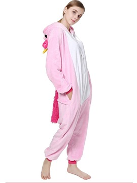 Ericdress Color Block Pegasus Cartoon Animal Pajama One-Piece