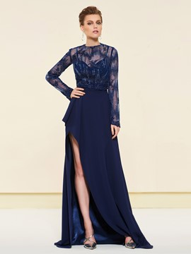 Ericdress Long Sleeves Wedding Mother Dress 2019