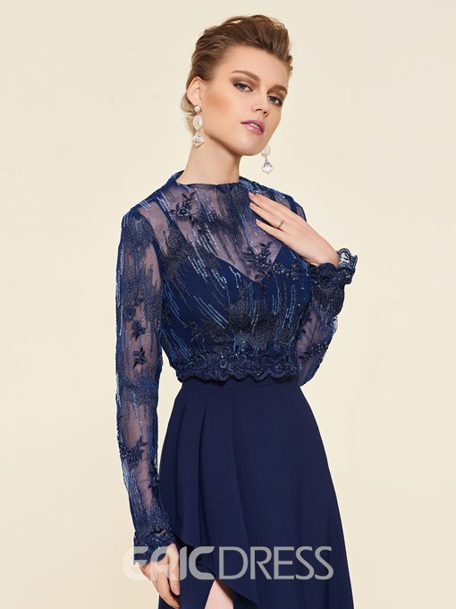 Ericdress Lace Long Sleeves Mother of the Bride Dress 2019