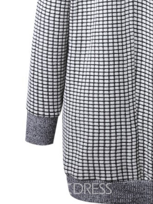 Ericdress Patchwork Fall Loose Sweater