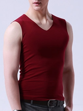Ericdress Seamless Breathable Tight Men's Vest