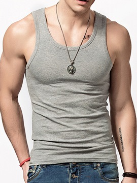Ericdress Modal Sleeveless Elastic Tight Men's Vest