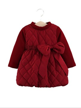 Ericdress Bowknot A-Line Baby Girl's Dress
