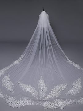 Ericdress Appliques Two-Layers Wedding Veil