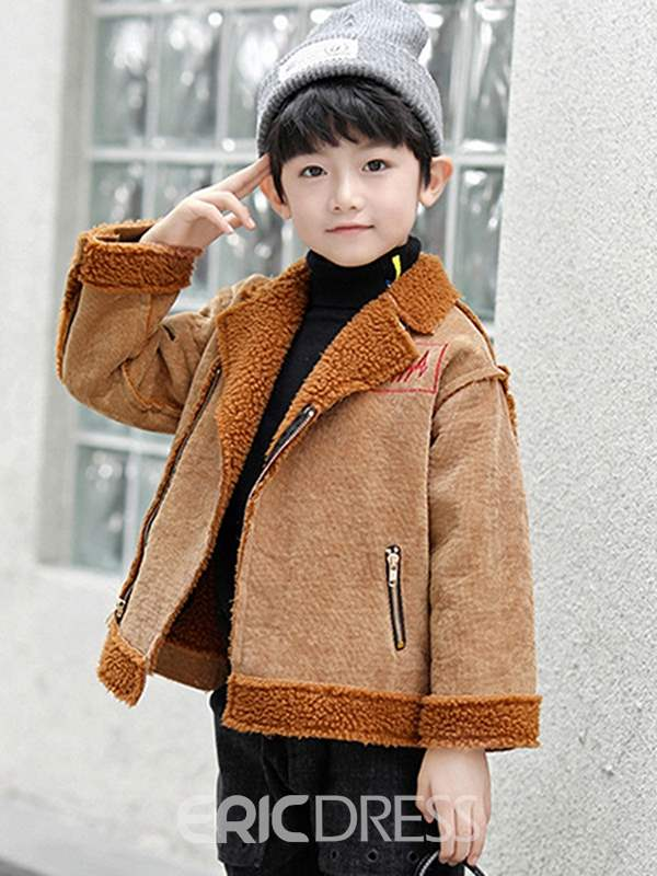 Ericdress Zipper Plain Boy's Jacket