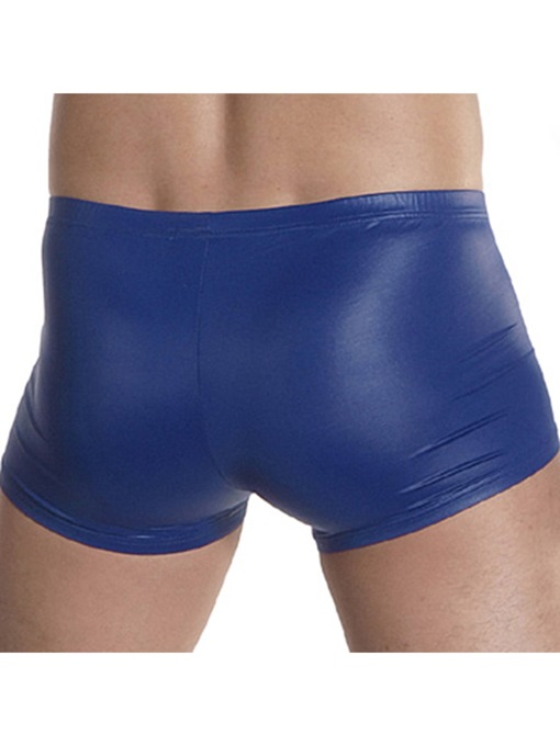 Ericdress Imitation Leather Low-Waist Men's Boxer Briefs