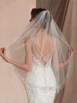 Ericdress One-Layer Elbow Wedding Veil