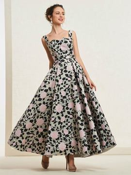 Ericdress A-Line Spaghetti Straps Prom Dress 2019