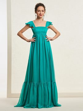 Ericdres A-Line Sleeveless Straps Prom Dress