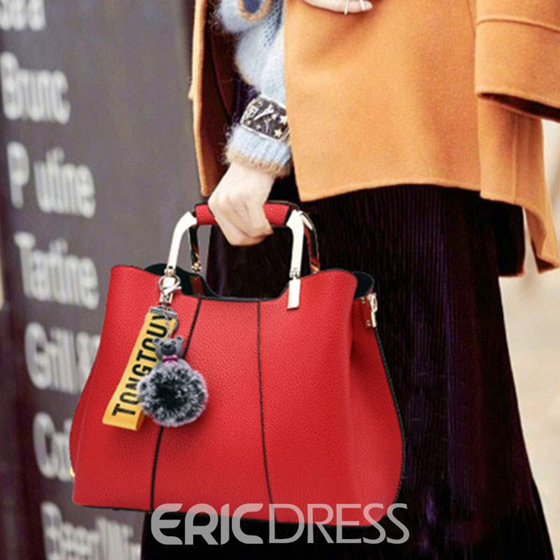 Ericdress Thread PU Tote Bags