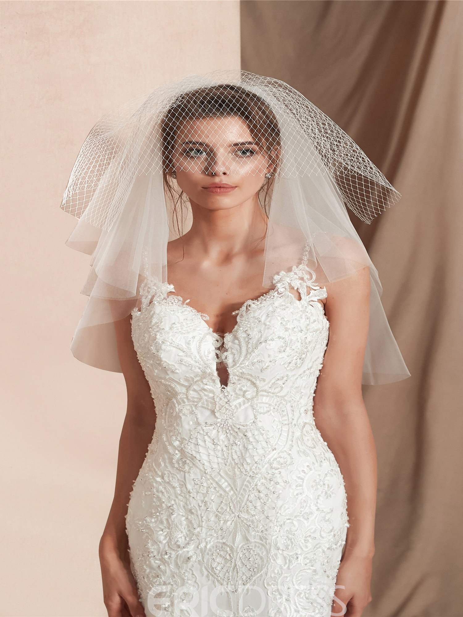 Ericdress Multi-Layer Short Bridal Veils