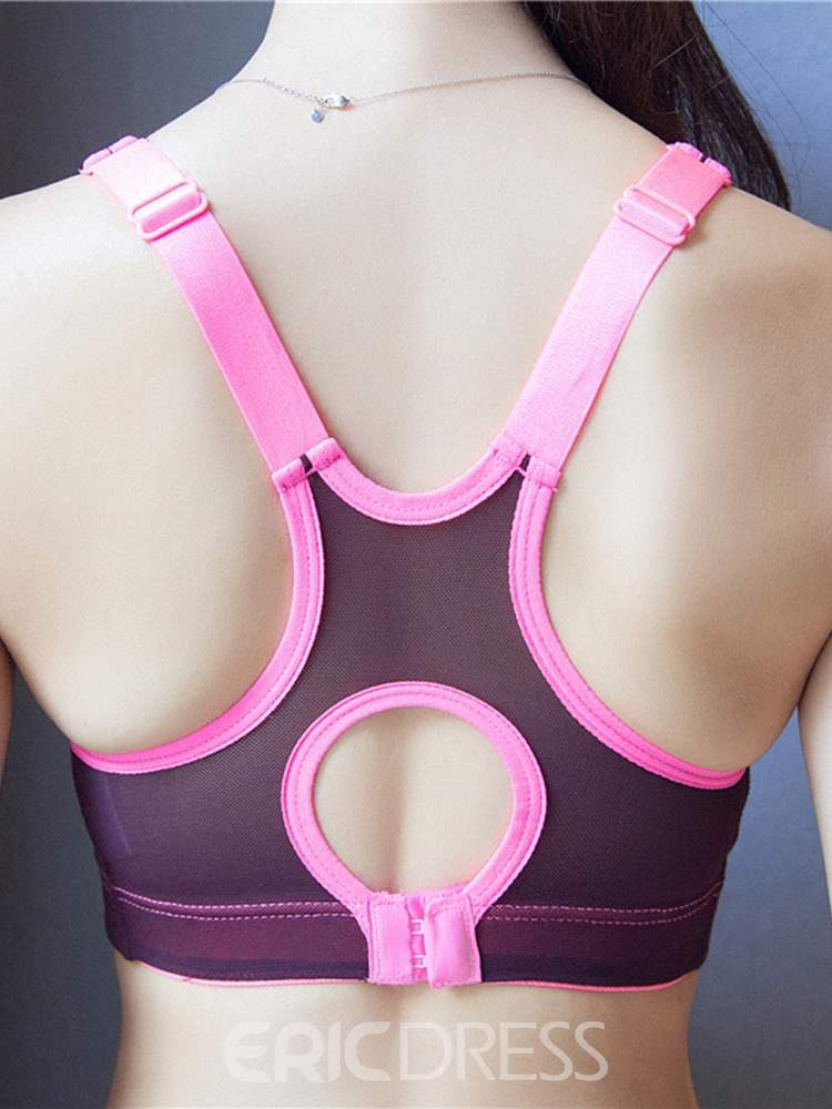 Ericdress Preventing Accidental Exposure Free Wire Sports Bras
