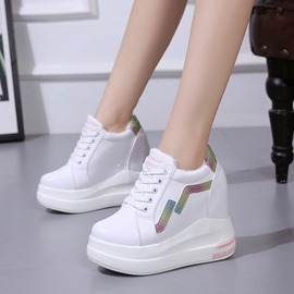 Ericdress Low-Cut Upper Round Toe Platform Women's Sneakers