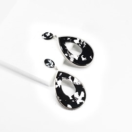 Ericdress Water Drop Hollow Out Alloy Earrings