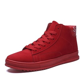 Ericdress Lace-Up Plain Round Toe Men's Skate Shoes
