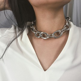 Ericdress Alloy Plain Women Necklace