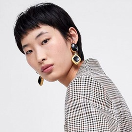 Ericdress Black Women Earrings