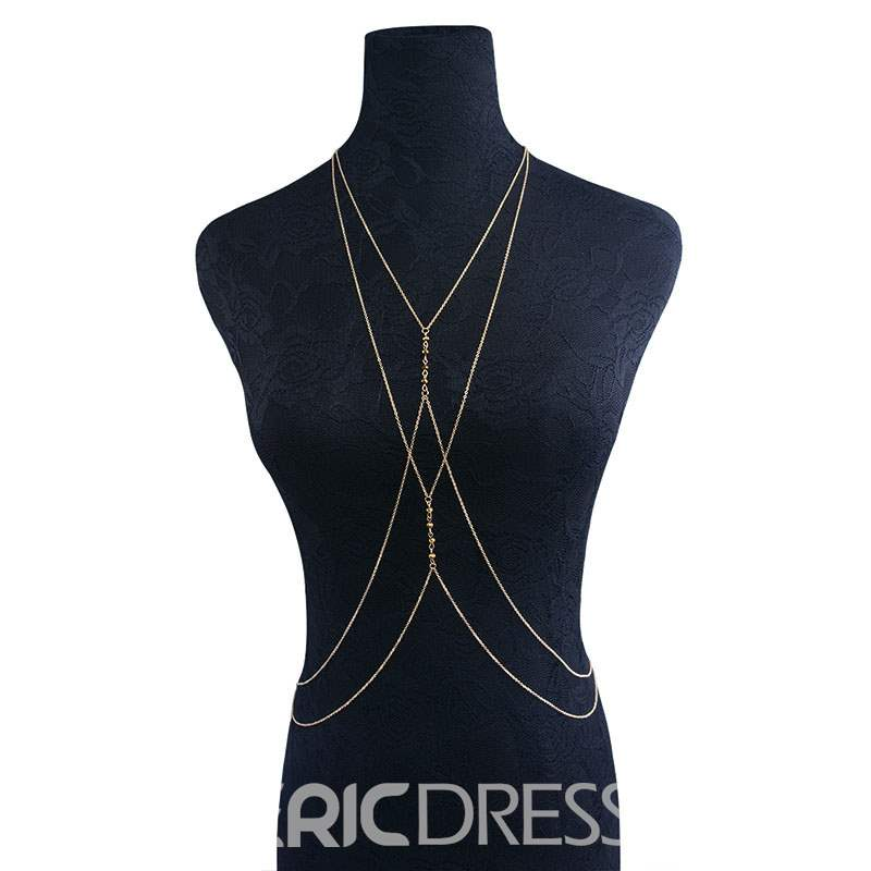 Ericdress Body Chain Necklace
