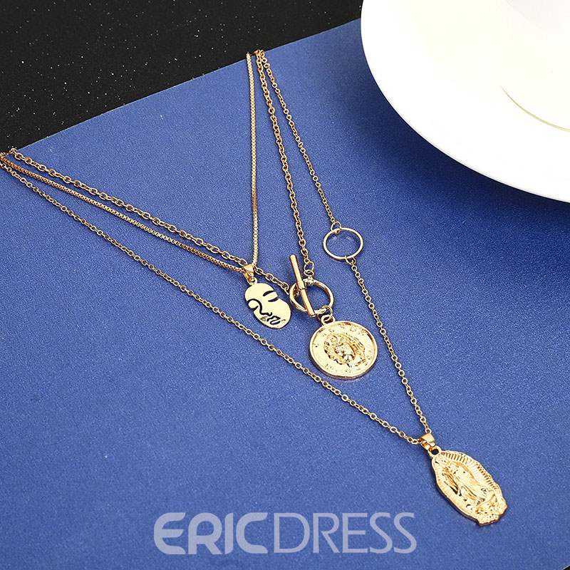 Ericdress Romantic Plate Necklace