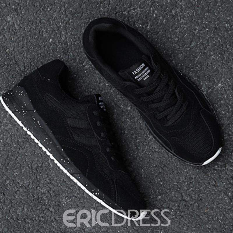 Ericdress Comfortable Mesh Patchwork Lace-Up Men's Sneakers