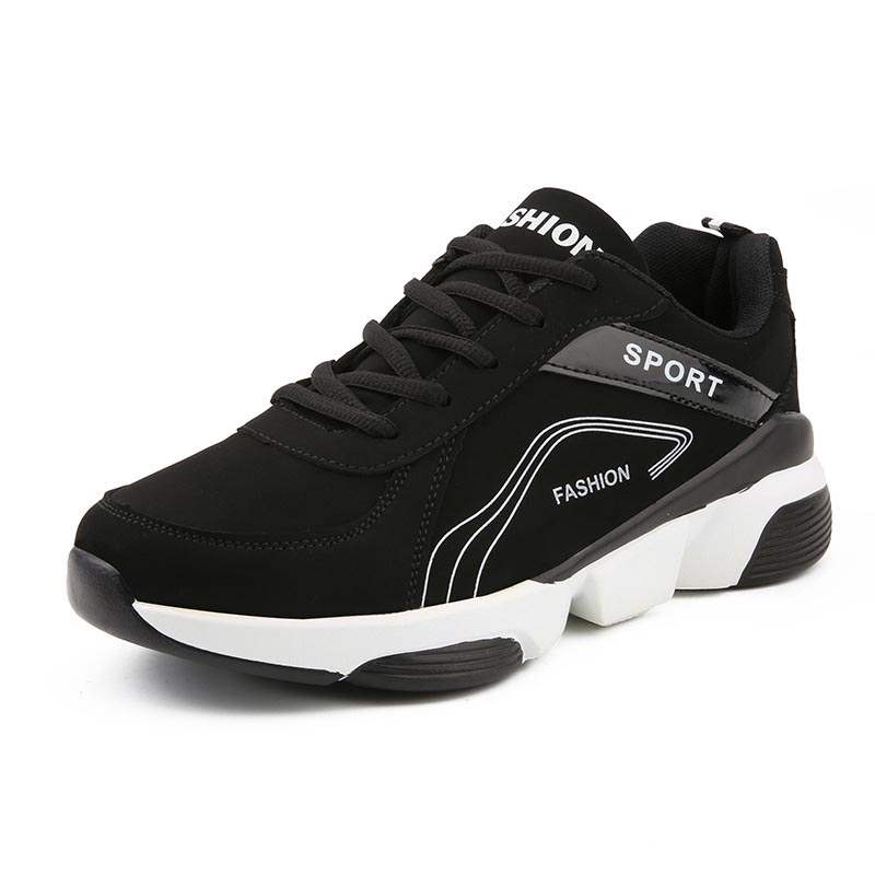 Ericdress Color Block Mesh Lace-Up Round Toe Men's Sneakers