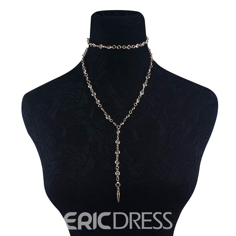 Ericdress Beads Pendant Necklace