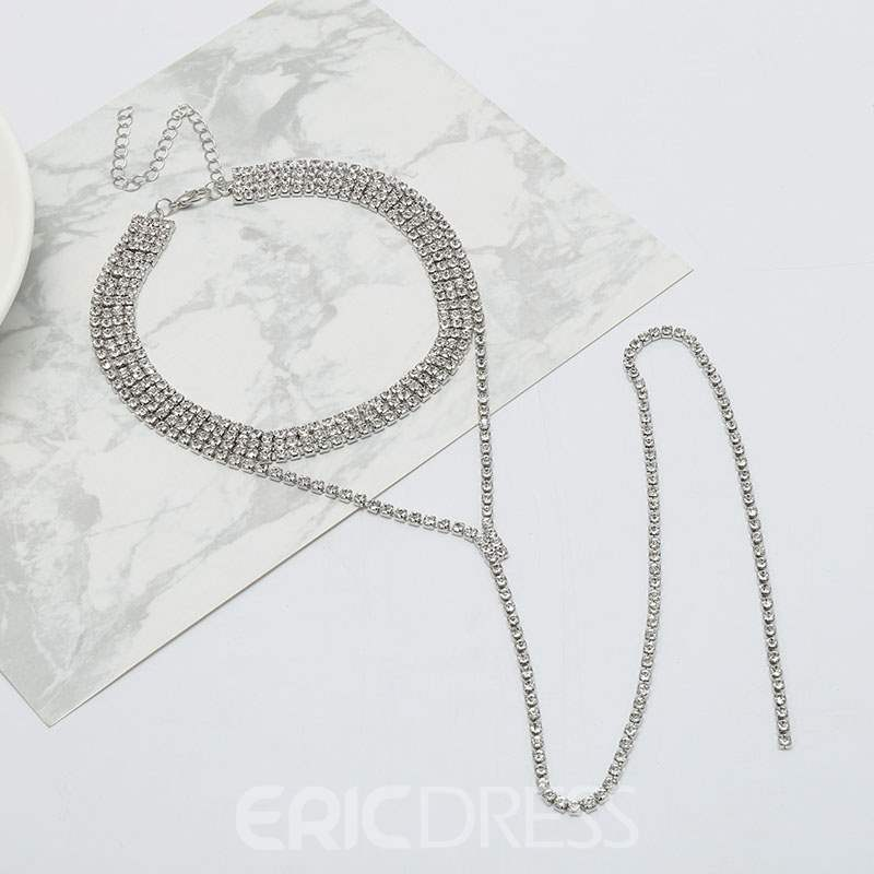 Ericdress Diamnate Sexy Necklace