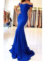 Ericdress Sweetheart Cap Sleeves Mermaid Evening Dress