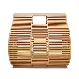 Ericdress Hollow Plain Tote Bamboo Bags