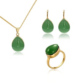 Ericdress Water Drop Ring Jewelry Set