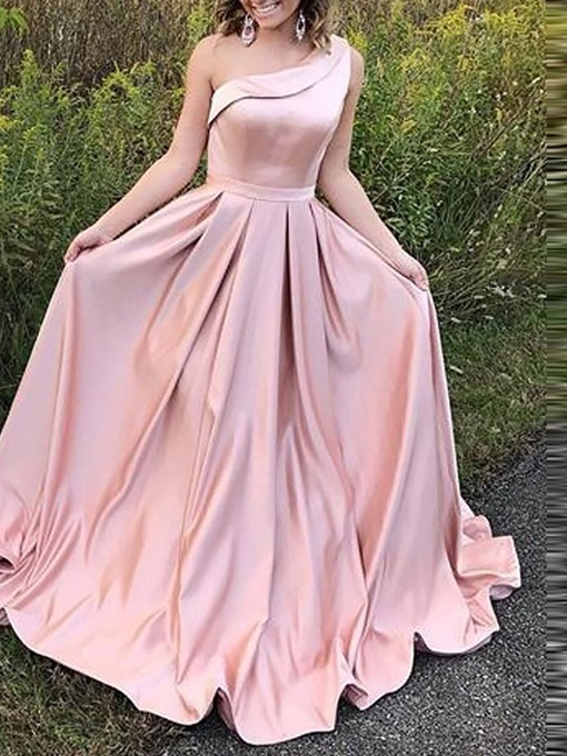 Ericdress A-Line One Shoulder Prom Dress